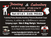 Handprint Digital Embroidery Services Manchester