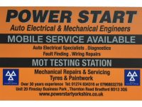 Mobile Auto Electricians in Huddersfield | Reviews - Yell