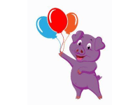 purple pig balloons woodford green balloon decorating yell