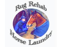 Logo Of Rug Rehab Horse Laundry