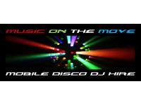 Music on the Move Mobile Disco DJ Hire, Glasgow | Mobile