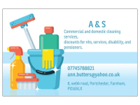 A & S Commercial & Domestic Cleaning