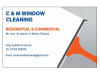 C and M Window Cleaning Carterton