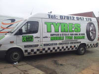 Pt tyres 24 hours mobile Tyre fitter