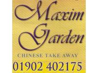 Logo Of Maxim Garden
