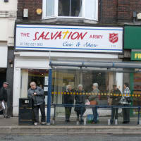 the salvation army tunstall charity shop stoke on trent charity shops yell. Black Bedroom Furniture Sets. Home Design Ideas