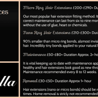 SiElla, Dungannon | Mobile Hairdressers - Yell