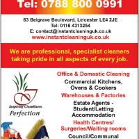 Instant Cleaning Services UK, Leicester | Commercial