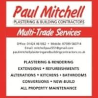 Paul Mitchell Plastering & Building Contractors, St  Leonards-On-Sea