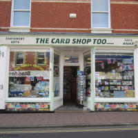 The card shop too budleigh salterton greeting card shops yell image of the card shop too m4hsunfo