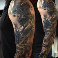 Chameleon Tattoo Paisley Tattoo Removal Yell