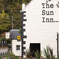 Image result for sun inn dalkeith logo