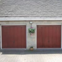 Image Of Well Hung Garage Doors