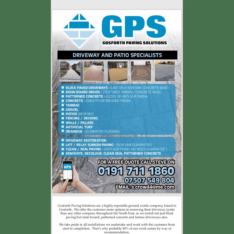 Gosforth Paving Solutions, Newcastle Upon Tyne | Paving