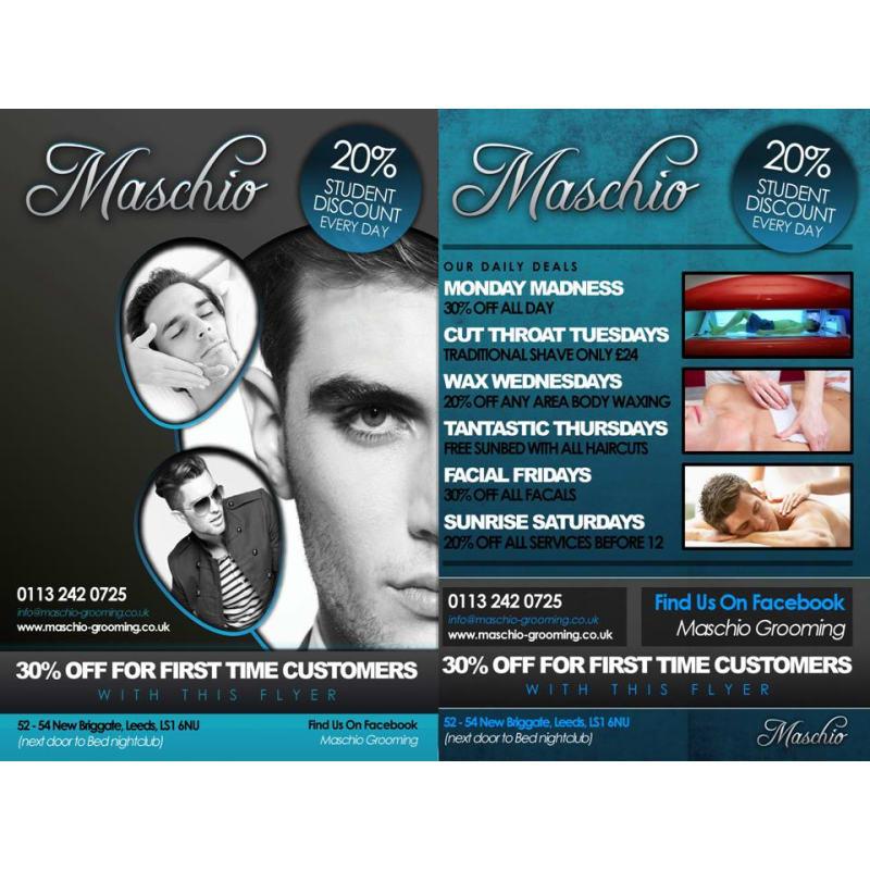 Maschio Hair Beauty Leeds Barbers Yell
