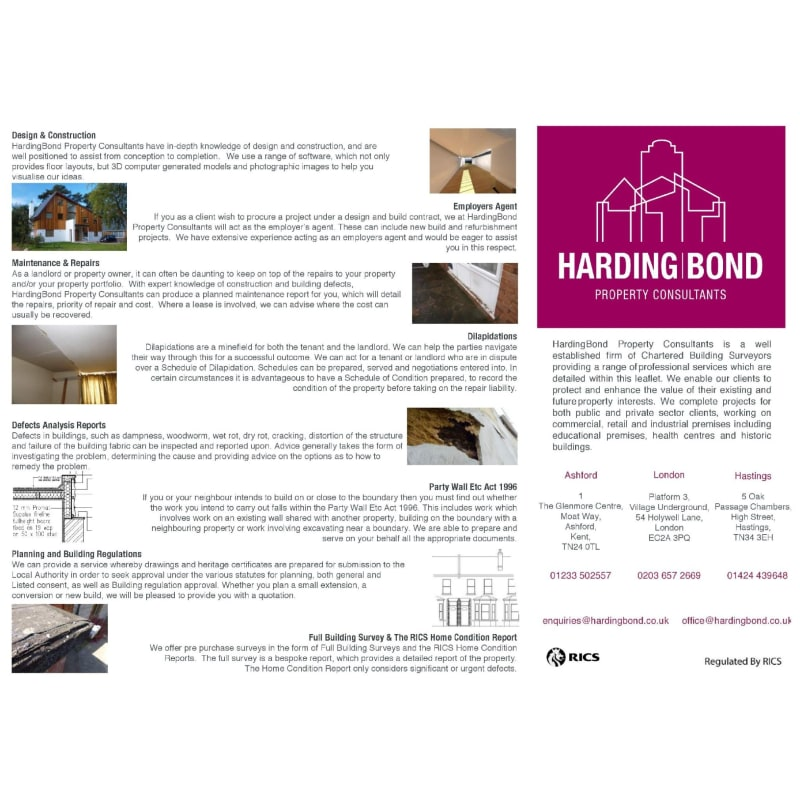 Harding Bond & Property Consultants, Ashford | Building