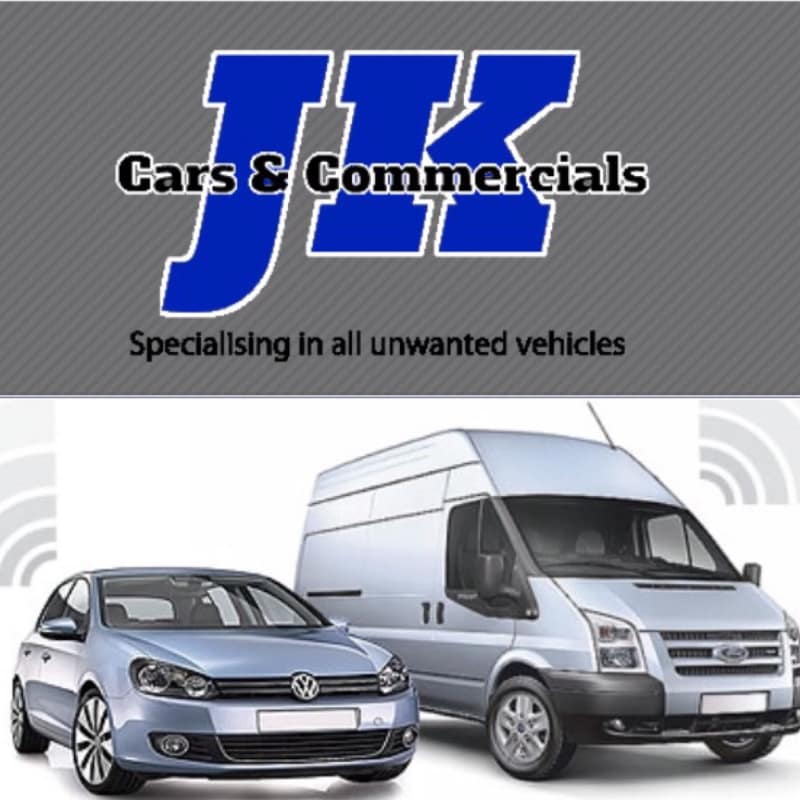 JK Cars & Commercials Scrap Car Buyer Collection & Removal, Poole ...