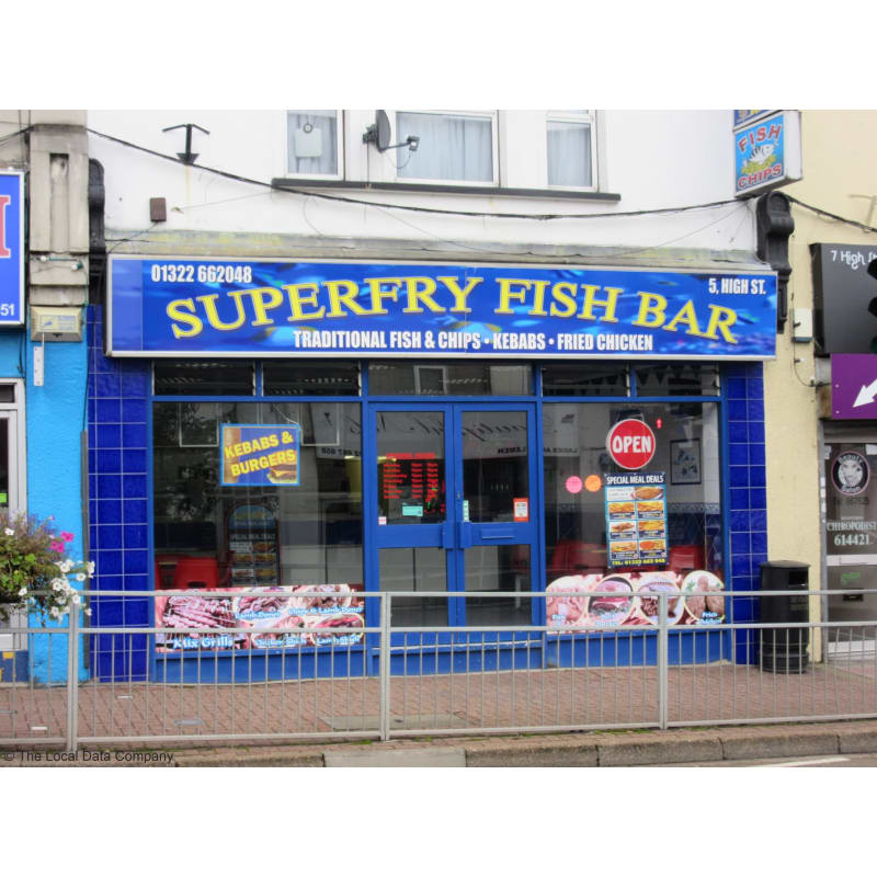 cheap for discount d5235 64df8 Superfry, Swanley | Takeaway Food - Yell