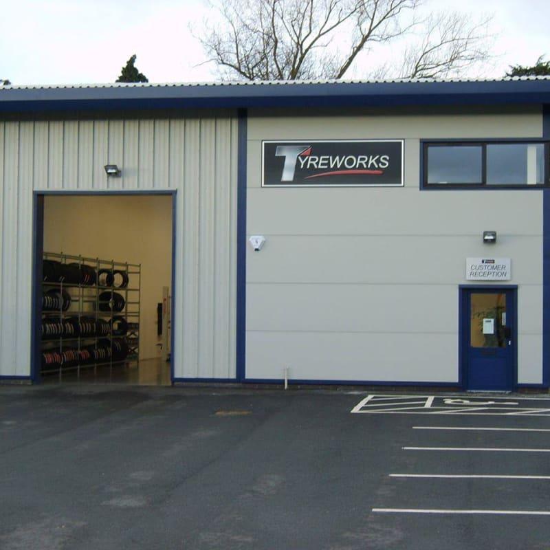 Tyreworks Tyre Centres Ltd, Market Drayton sell cheap tyres