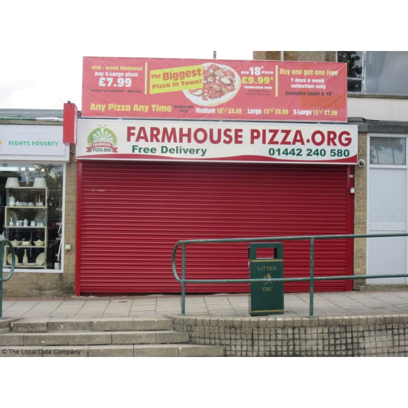 Farmhouse Pizzaorg Hemel Hempstead Pizza Delivery