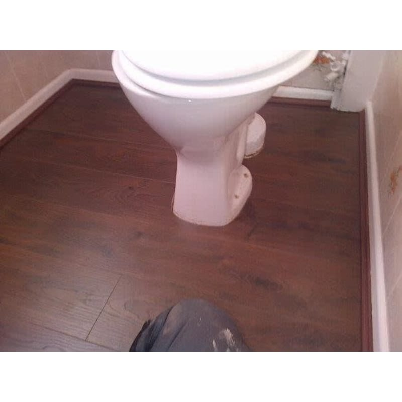 Bathroom Floor Higher Than Hallway