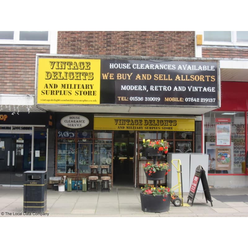 Vintage Delights & Military Surplus Store, Kettering | House