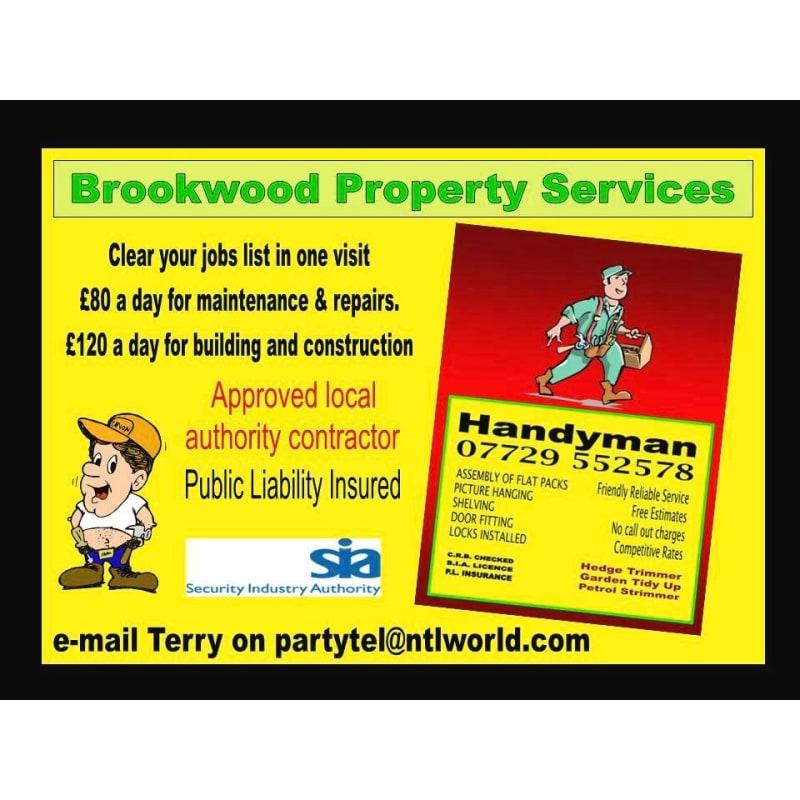 Handyman Services, Welling | Domestic Maintenance & Repair