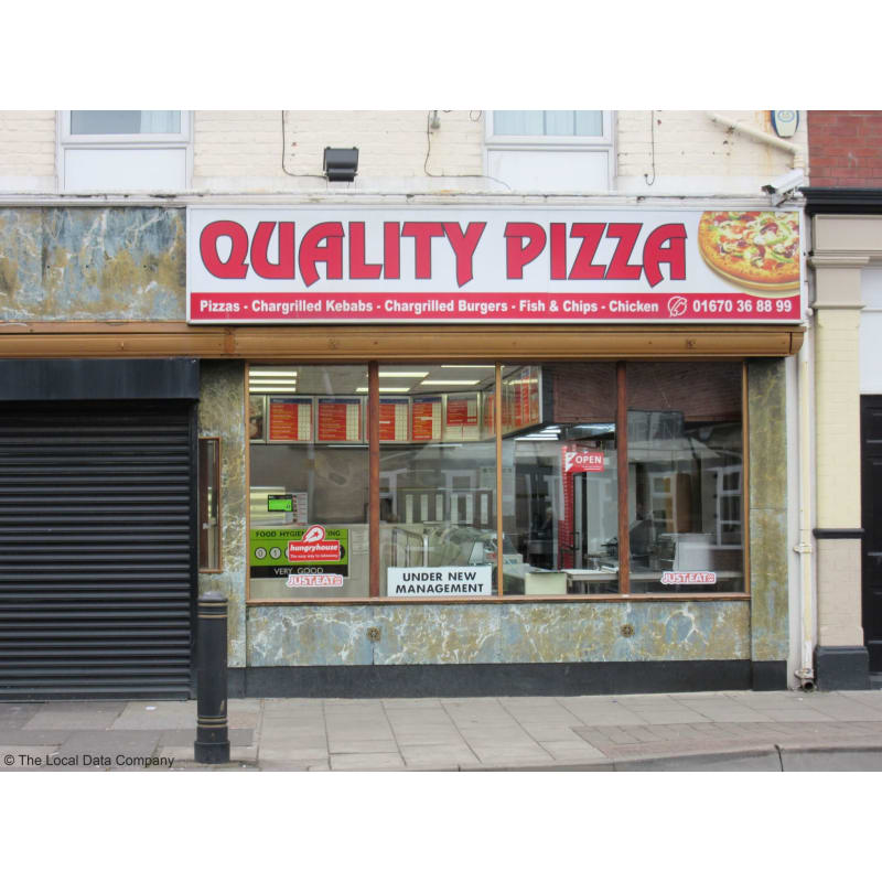 Quality Pizza Blyth Pizza Delivery Takeaway Yell