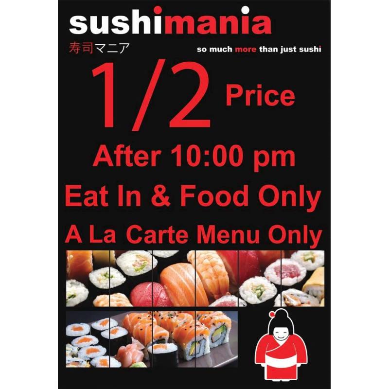 Sushimania Reading Thai Restaurants Yell