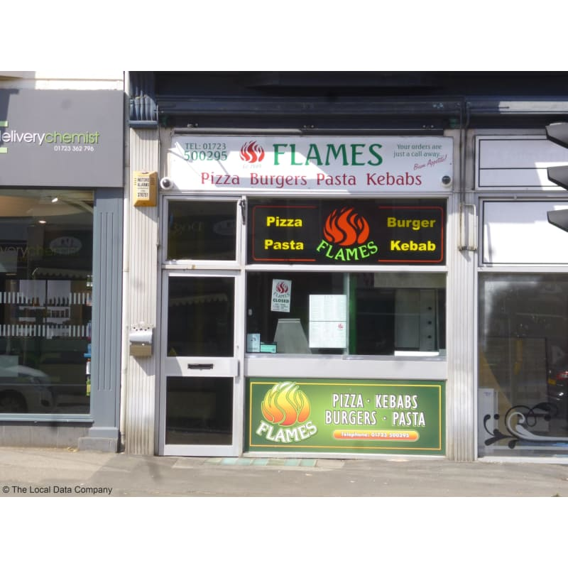 Flames Pizzas Scarborough Takeaway Food Yell