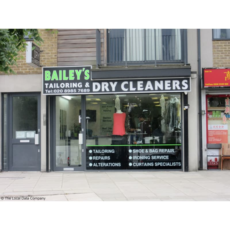 Bailey S Tailoring Dry Cleaners London Tailor Alterations Yell