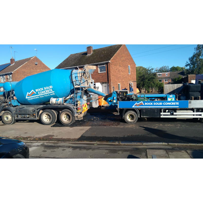 Rock Solid Concrete >> Rock Solid Mixer Hire Ltd Coventry Ready Mixed Concrete Yell