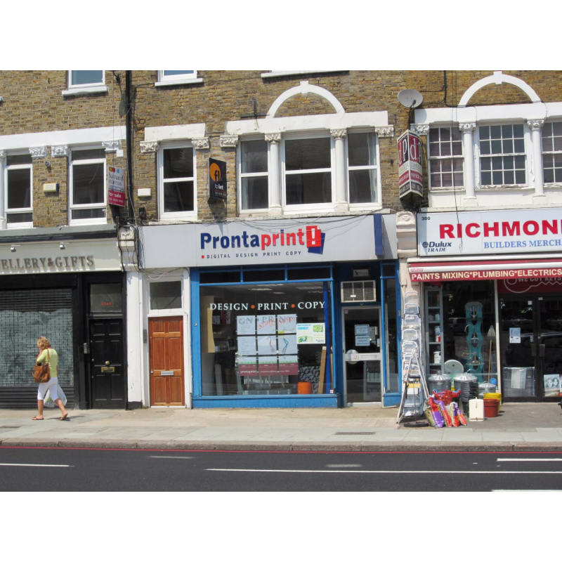 Prontaprint East Sheen, London | Printers & Lithographers - Yell