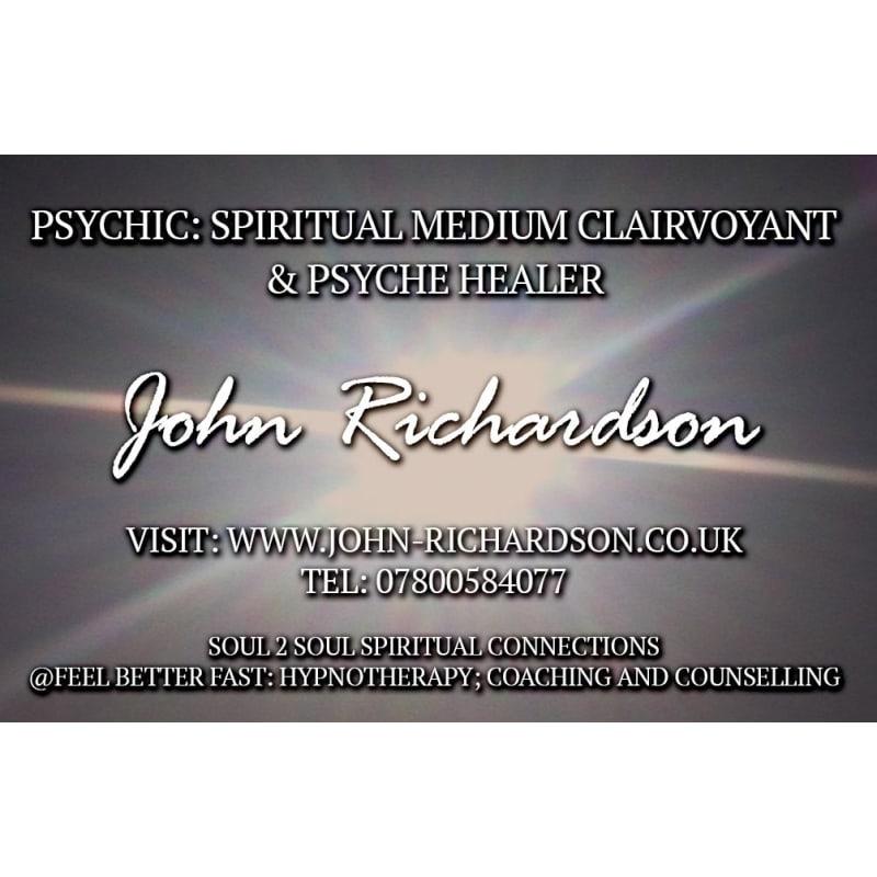 John Richardson Spiritual Medium, Huddersfield | Psychics ...