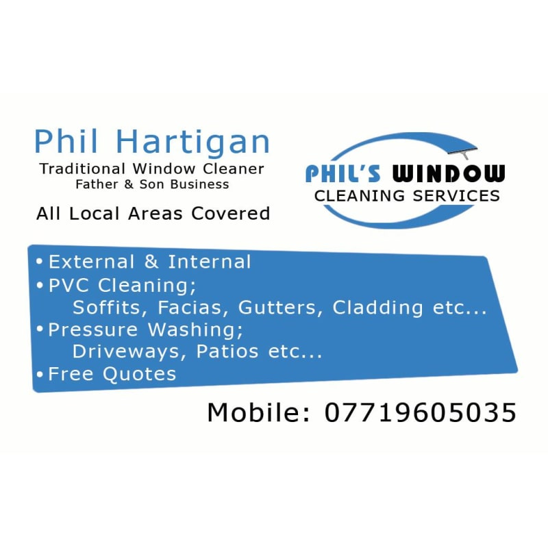 Phil's Window Cleaning Services, Stalybridge | Window
