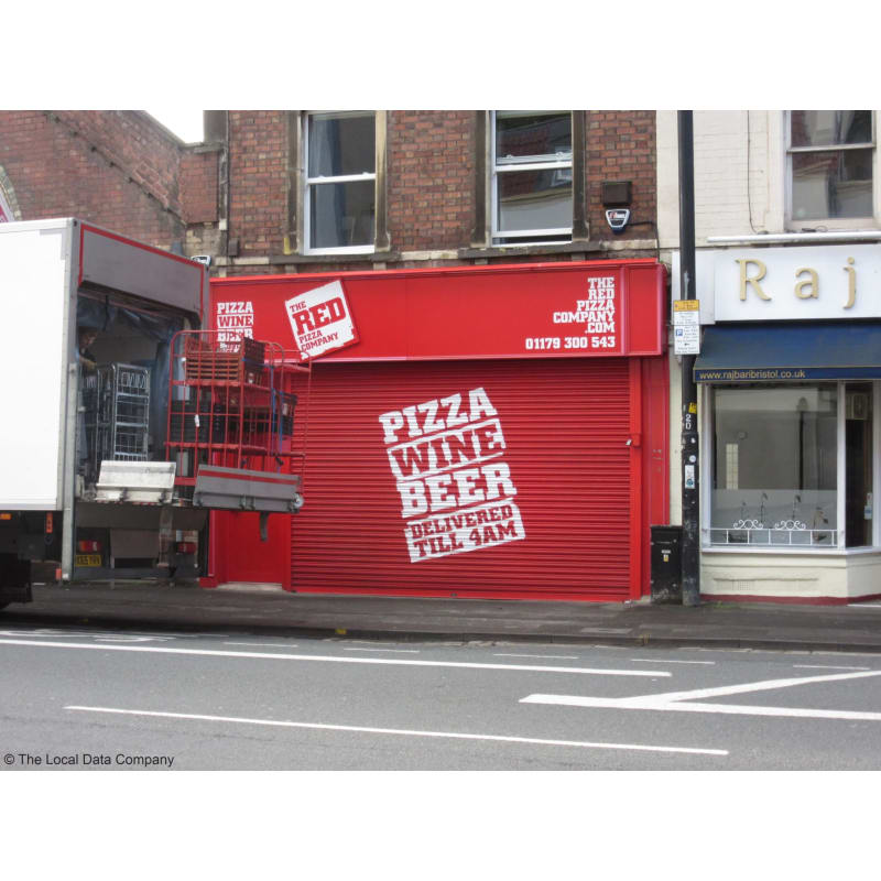 The Red Pizza Company Bristol Pizza Delivery Takeaway