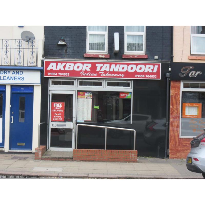 Akbor Tandoori Indian Takeaway Northampton Takeaway Food