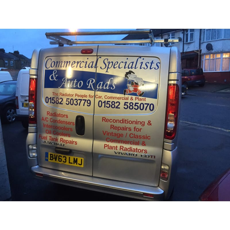 Commercial Specialists Auto Rads, Luton | Car Radiators - Yell