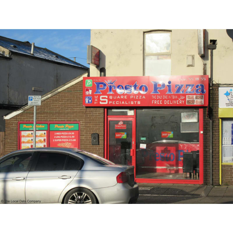 Presto Pizza Rotherham Pizza Delivery Takeaway Yell