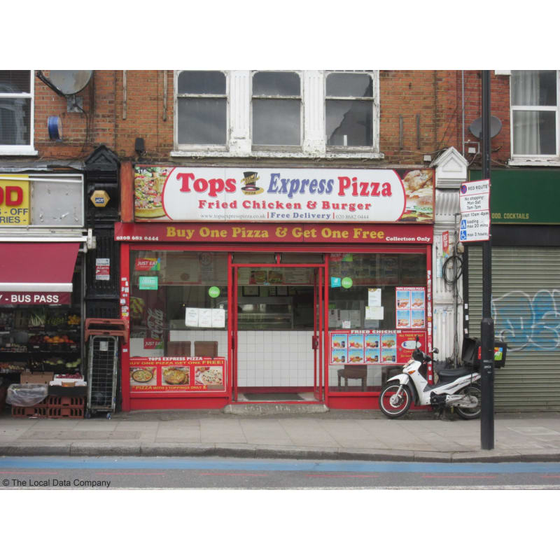 Tops Express Pizza London Pizza Delivery Takeaway Yell