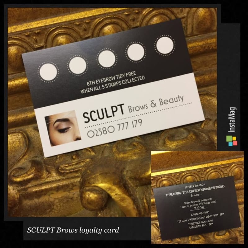 Sculpt Brows Beauty Southampton Threading Yell