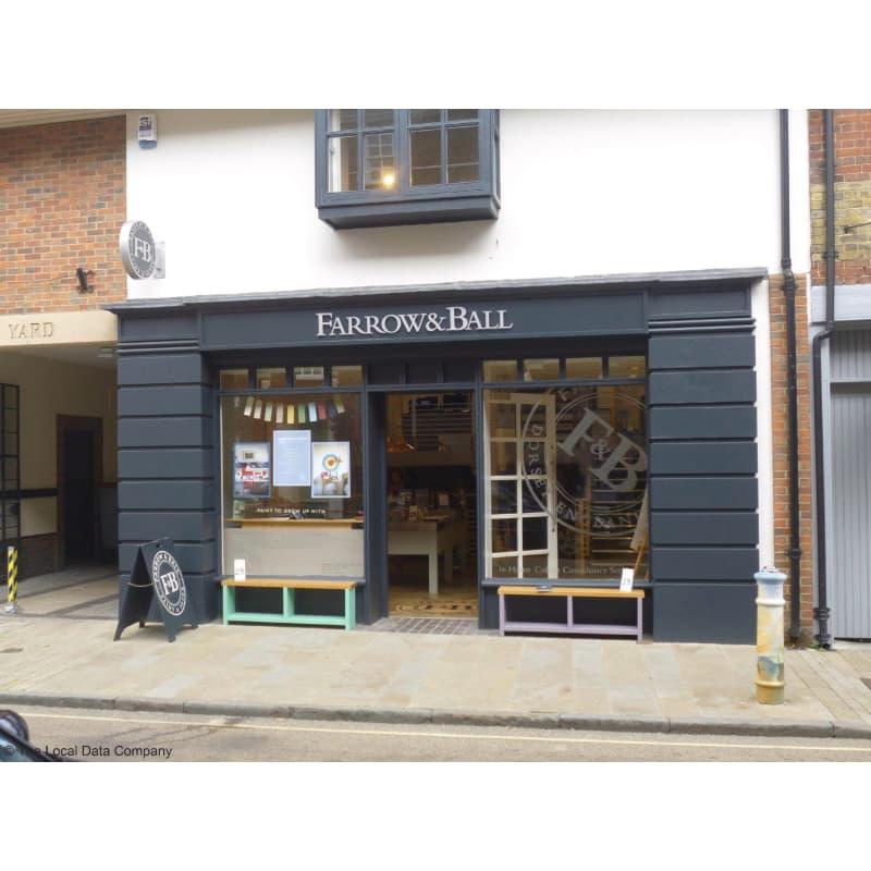 Farrow & Ball Ltd, Winchester | Wallpapers & Paints - Yell