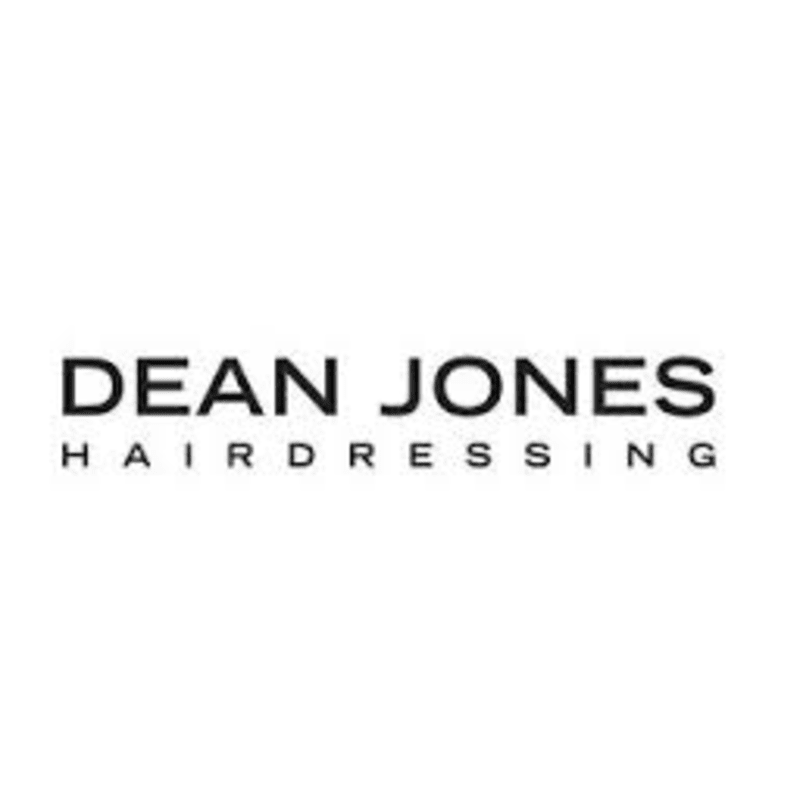 Image result for Dean Jones Hairdressing LOGO