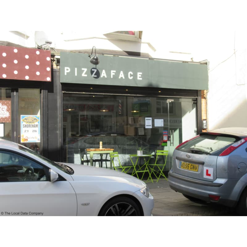 Pizza Face Pizza Ltd Worthing Pizza Delivery Takeaway