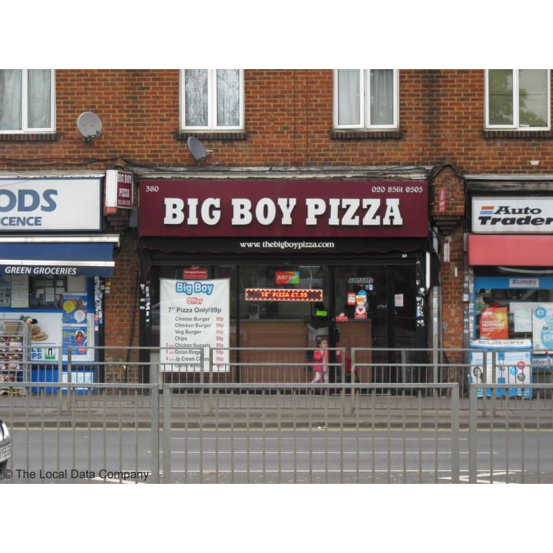 Bigboy Pizza Hayes Pizza Delivery Takeaway Yell