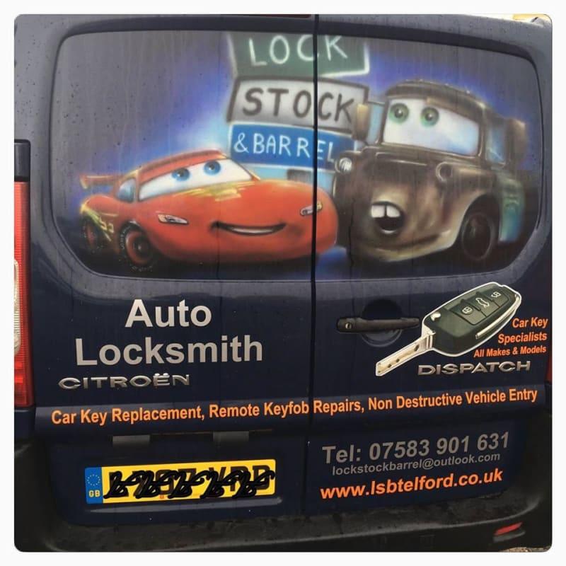 Lock, Stock & Barrel Auto Locksmiths, Telford | Locksmiths - Yell