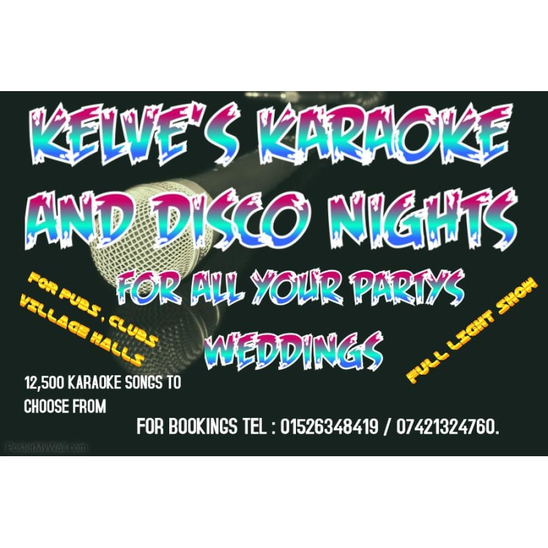 Kelve's Karaoke, Lincoln   Entertainers - Yell