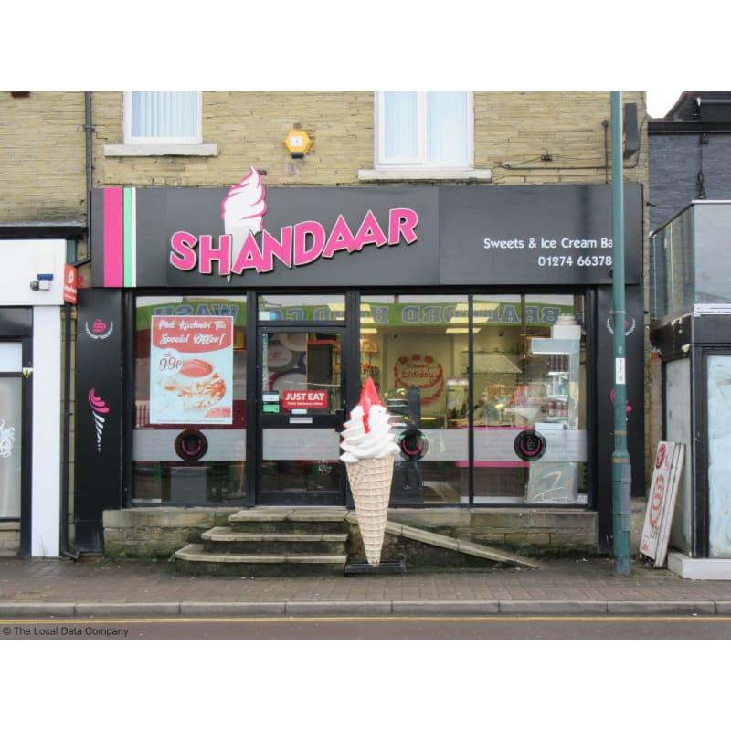 Shandaar Sweets Ice Cream Bar Bradford Confectionery Yell