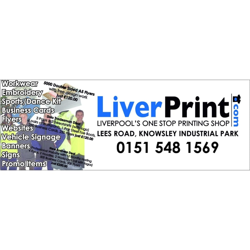 Liverprint liverpool screen printers yell reheart Image collections