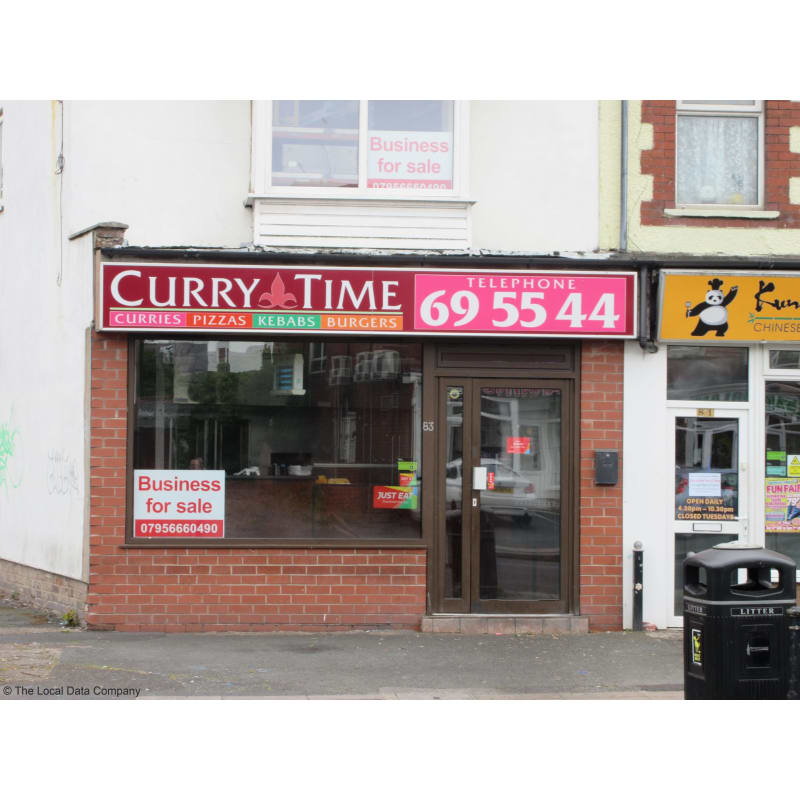 Curry Time Blackpool Takeaway Food Yell